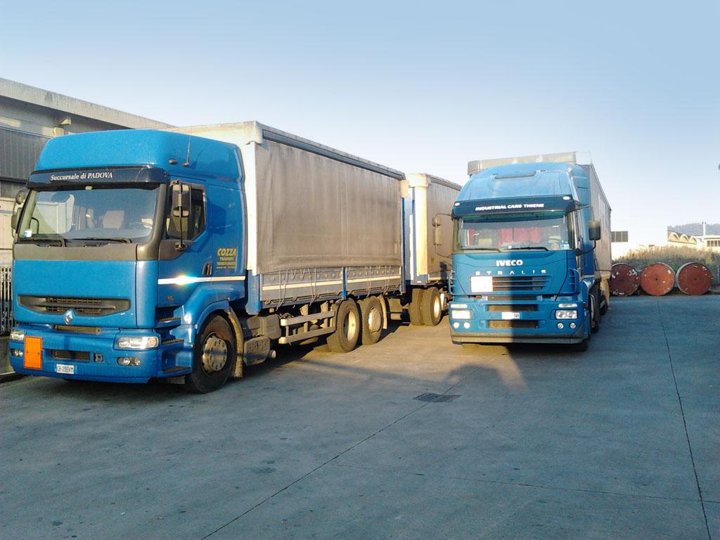 trasporto deposito logistica vicenza milano