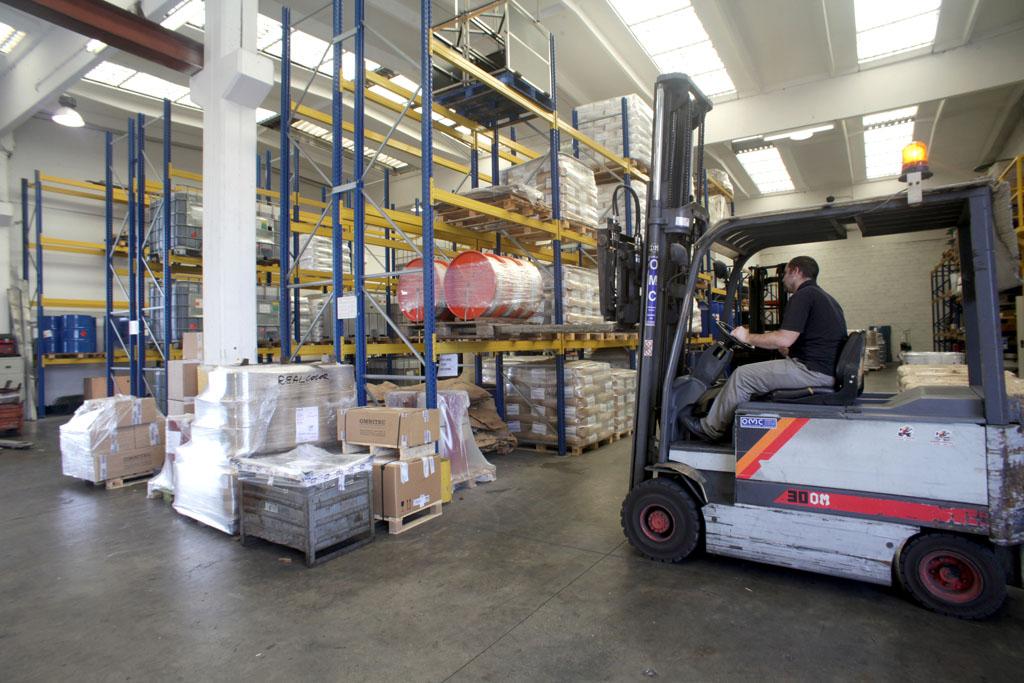 deposito e logistica per merci industriali vicenza